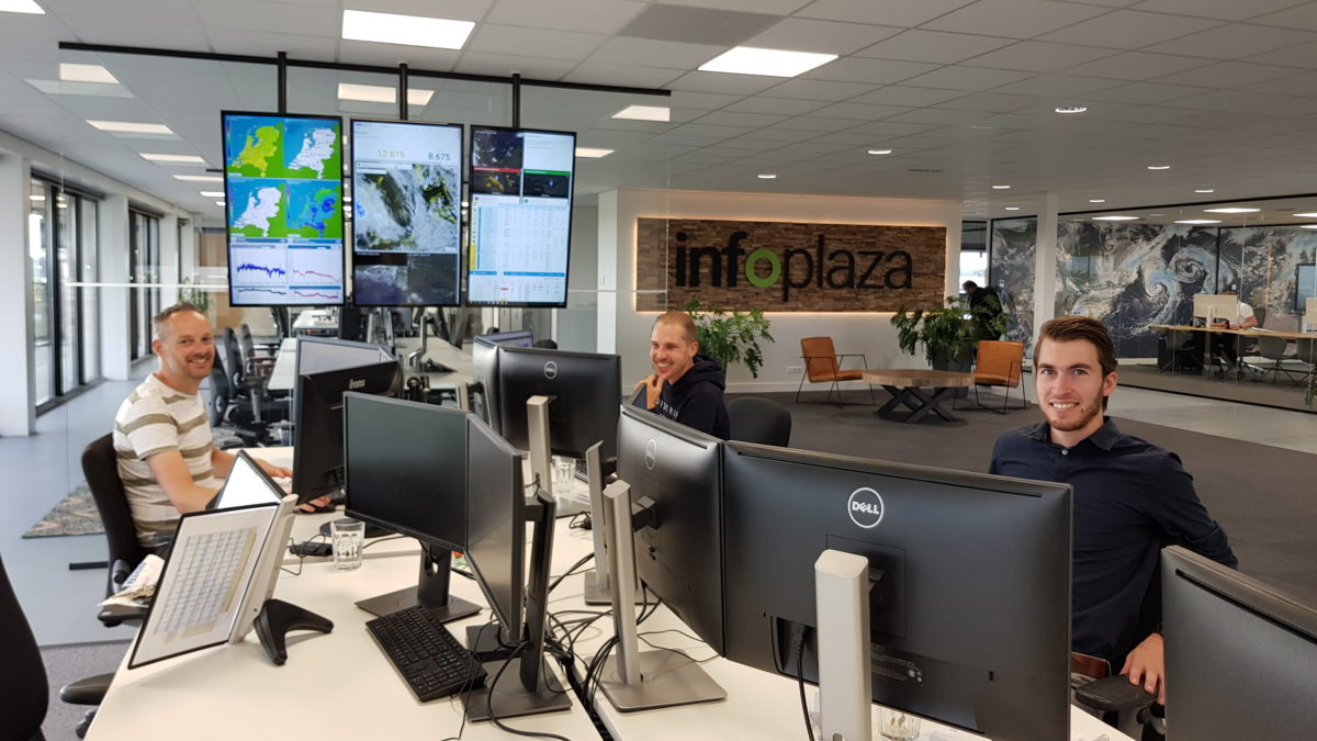 Infoplaza / Voorspelt wereldwijd het weer