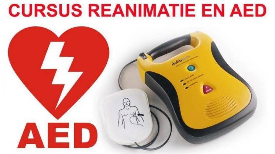 Cursus reanimatie en AED 23 januari t/m 12 februari