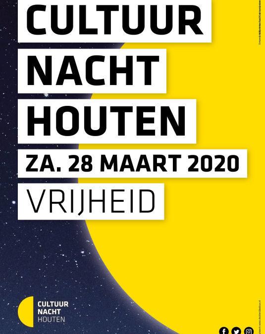 Cultuurnacht 28 maart 2020