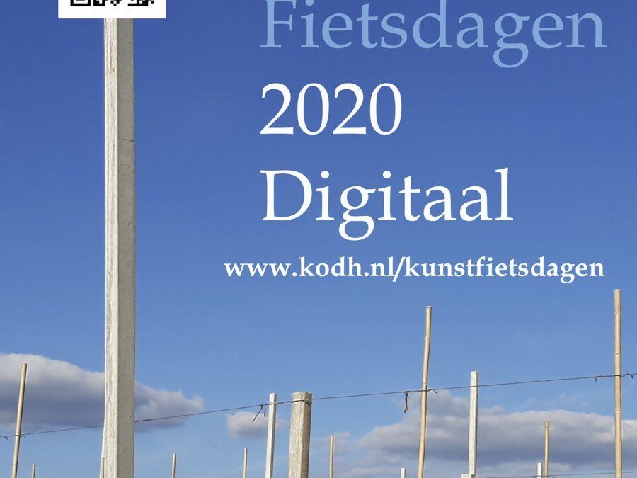 Digitale Kunstfietsdagen bij Kunst om de Hoek